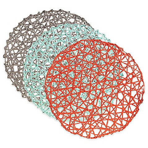Woven Round Placemat Bed Bath Amp Beyond