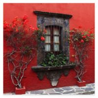 Roses In Red All Weather Outdoor Canvas Wall Art