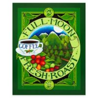 Coffee Bean Graphic All Weather Outdoor Canvas Wall Art