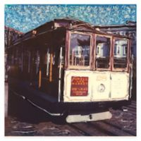 Cable Car Weather Outdoor Canvas Art