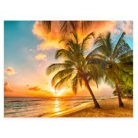 Setting Sun All Weather Outdoor Canvas Art