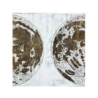 INK+IVY Map of the Moon Canvas Wall Art