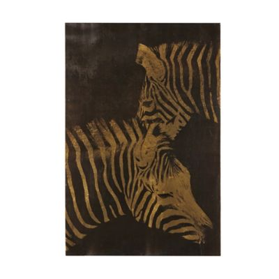 INK+IVY Lux Zebras Canvas Wall Art