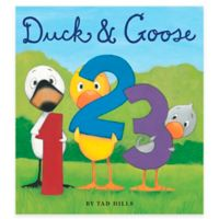 """Duck & Goose 123"" Board Book by Tad Hills"