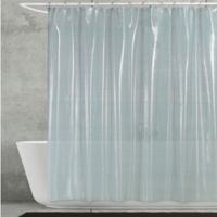 Creative Bath™ Linea Shower Curtain in Aqua
