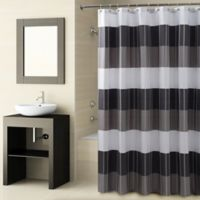 Croscill® Fairfax Shower Curtain in Black