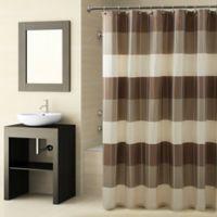 Croscill® Fairfax Shower Curtain in Natural