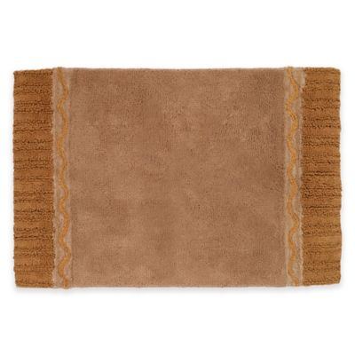 Buy Colordrift Morocco Gold Bath Rug From Bed Bath Beyond