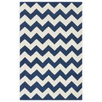 Artistic Weavers Transit Penelope 2-Foot x 3-Foot Accent Rug in Navy/Ivory