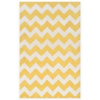 Artistic Weavers Transit Penelope 2-Foot x 3-Foot Accent Rug in Yellow/Ivory