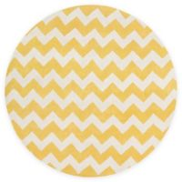 Artistic Weavers Transit Penelope 3-Foot 6-Inch Round Accent Rug in Yellow/Ivory
