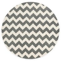 Artistic Weavers Transit Penelope 3-Foot 6-Inch Round Accent Rug in Grey/Ivory