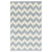 Artistic Weavers Transit Penelope 3-Foot x 5-Foot Area Rug in Light Blue/Ivory