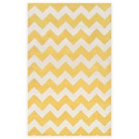 Artistic Weavers Transit Penelope 4-Foot x 6-Foot Area Rug in Yellow/Ivory