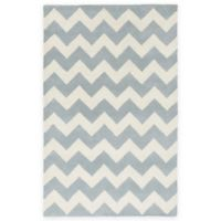 Artistic Weavers Transit Penelope 5-Foot x 8-Foot Area Rug in Light Blue/Ivory