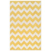 Artistic Weavers Transit Penelope 5-Foot x 8-Foot Area Rug in Yellow/Ivory