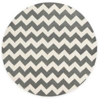 Artistic Weavers Transit Penelope 8-Foot Round Area Rug in Grey/Ivory