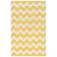 Artistic Weavers Transit Penelope 8-Foot x 11-Foot Area Rug in Yellow/Ivory