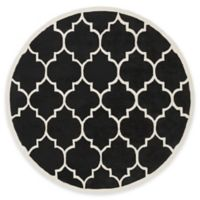 Artistic Weavers Transit Piper 3-Foot 6-Inch Round Area Rug in Black