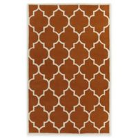 Artistic Weavers Transit Piper 4-Foot x 6-Foot Area Rug in Orange