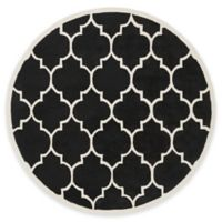 Artistic Weavers Transit Piper 6-Foot Round Area Rug in Black