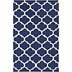 Artistic Weavers Pollack Stella 2-Foot x 3-Foot Area Rug in Navy/White