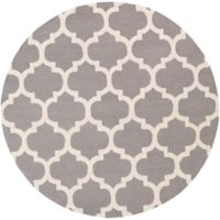 Artistic Weavers Pollack Stella 3-Foot 6-Inch Round Area Rug in Grey/White