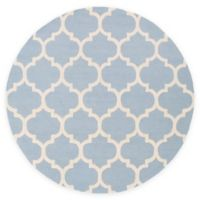 Artistic Weavers Pollack Stella 3-Foot 6-Inch Round Area Rug in Light Blue/White