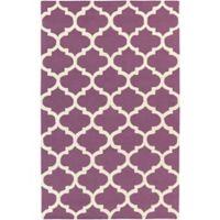 Artistic Weavers Pollack Stella 3-Foot x 5-Foot Area Rug in Purple/White