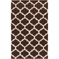 Artistic Weavers Pollack Stella 4-Foot x 6-Foot Area Rug in Brown/White