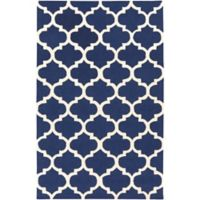 Artistic Weavers Pollack Stella 4-Foot x 6-Foot Area Rug in Navy/White