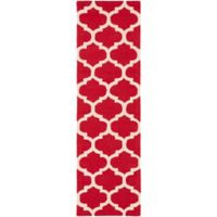 Artistic Weavers Pollack Stella 2-Foot 3-Inch x 12-Foot Area Rug in Red/White