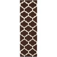 Artistic Weavers Pollack Stella 2-Foot 3-Inch x 12-Foot Area Rug in Brown/White