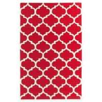 Artistic Weavers Pollack Stella 5-Foot x 8-Foot Area Rug in Red/White