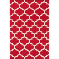 Artistic Weavers Pollack Stella 6-Foot x 9-Foot Area Rug in Red/White