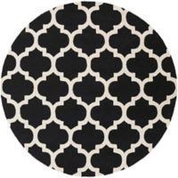 Artistic Weavers Pollack Stella 8-Foot Round Area Rug in Black/White