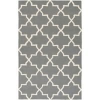 Artistic Weavers 2-Foot x 3-Foot Pollack Keely Accent Rug in Charcoal/White