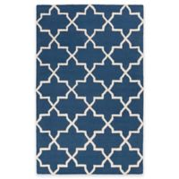 Artistic Weavers 5-Foot x 8-Foot Pollack Keely Area Rug in Blue/White