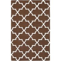 Artistic Weavers 8-Foot x 11-Foot Pollack Keely Area Rug in Brown/White