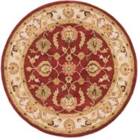 Artistic Weavers Oxford Isabelle 3-Foot 6-Inch Round Rug in Red
