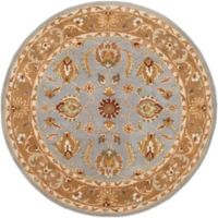 Artistic Weavers Oxford Isabelle 3-Foot 6-Inch Round Rug in Blue