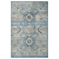 Safavieh Persian Garden Vintage Medallion 5-Foot 1-Inch x 7-Foot 7-Inch Area Rug in Ivory/Blue