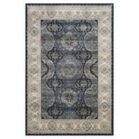 Safavieh Persian Garden Vintage Medallion 5-Foot 1-Inch x 7-Foot 7-Inch Area Rug in Ivory/Navy