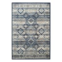 Safavieh Persian Garden Vintage Medallion 8-Foot x 11-Foot Area Rug in Ivory/Navy