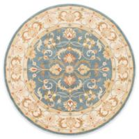 Artistic Weavers Oxford Aria 3-Foot 6-Inch Round Area Rug in Blue