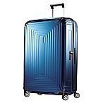 Samsonite® Neopulse 30-Inch Hardcase Spinner Suitcase in Metallic Blue