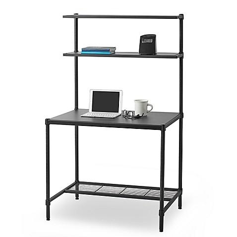 Studio 3b 2 Tier Desk In Black