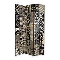 Wayborn® Coromandel Room Divider in Black/Silver