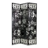 Wayborn Santa Fe Screen in Black/Silver