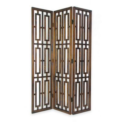 Buy Brown Room Divider From Bed Bath Beyond